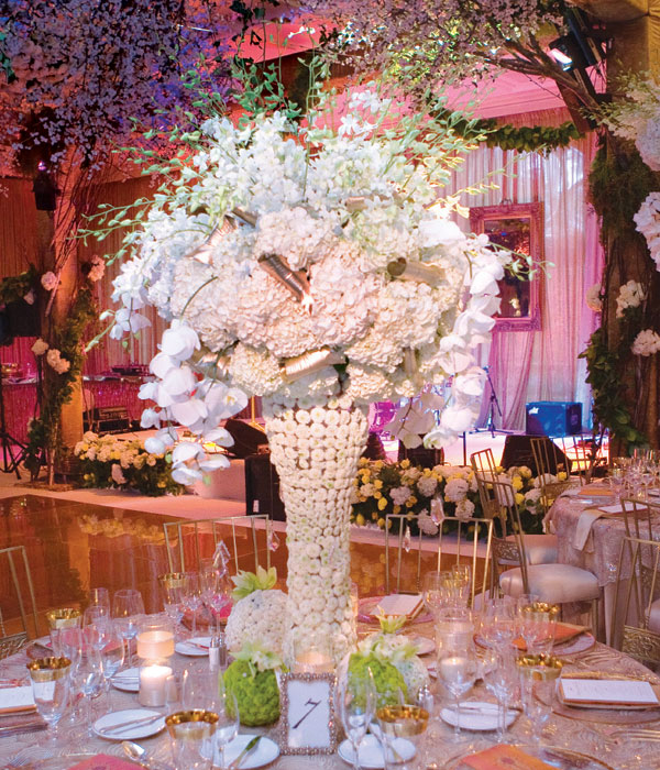 Wedding centerpieces the teri tome
