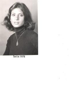 Teri in 1978