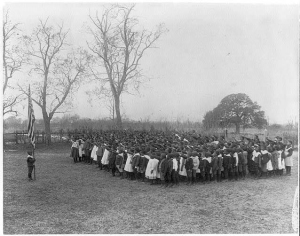 First Memorial Day honoring 257 Union soldier-martyrs 10000 freed men march led by 3000 children