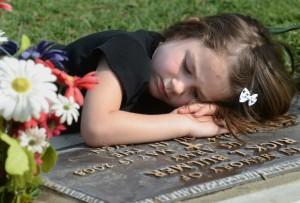 Memorial Day Little Girl