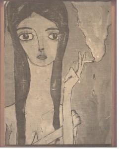 The Smoking Girl