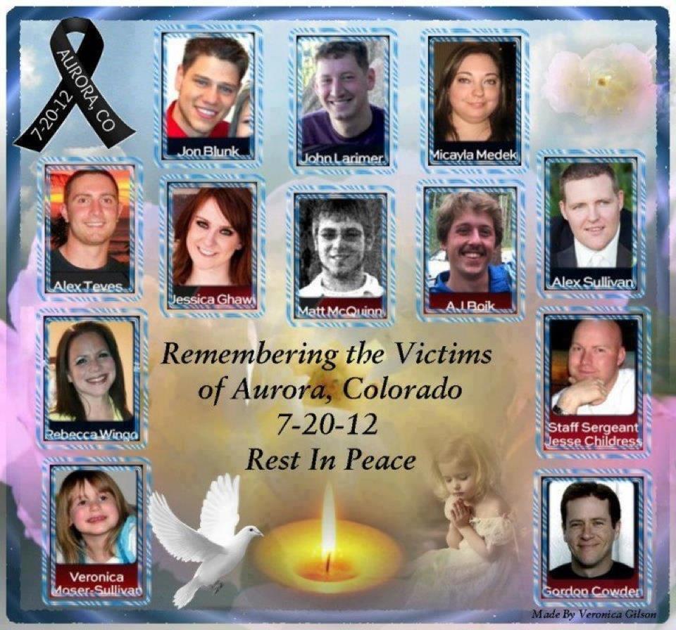 Remembering The 13 Victims Of Columbine High School: Shootingaurora
