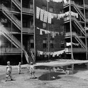 Huron Street 1958 A